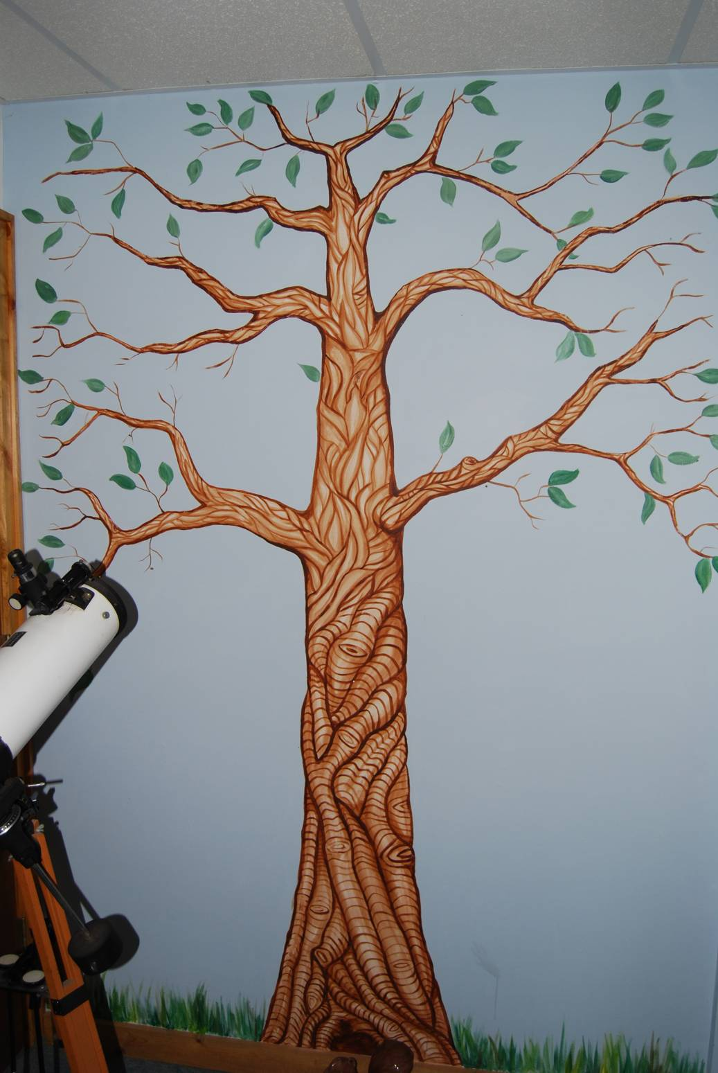 tradart custom artwork - tree mural